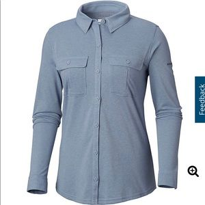 Columbia Arrowhead Trail Knit Long Sleeve Shirt